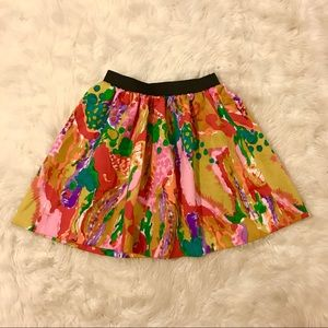 Dresses & Skirts - 3/$30 Bright vintage skirt with elastic waistband